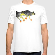 Going Wild 3 Mens Fitted Tee SMALL White