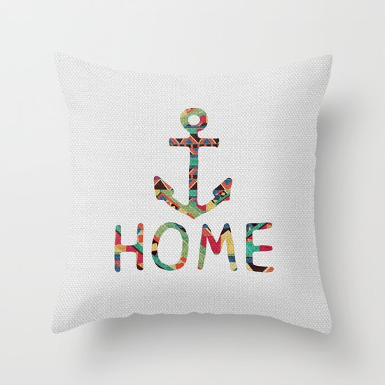 you make me home Throw Pillow