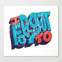 I Forgot to Keep it Simple Canvas Print