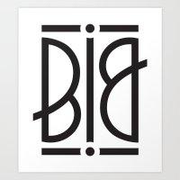 BIG Ambigram Art Print