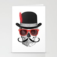 Cool Skull Stationery Cards