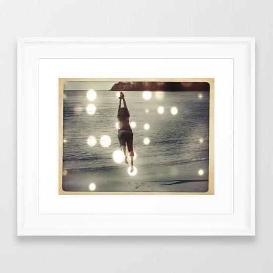 Lift Off. Framed Art Print