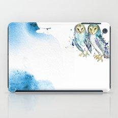 Blue Owls iPad Case