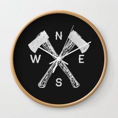 Compass 2 Wall Clock