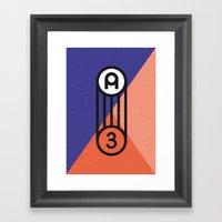 A3 Poster Framed Art Print