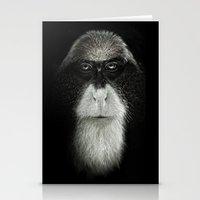 Debrazza's Monkey Square Stationery Cards