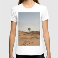 Desert  Womens Fitted Tee White SMALL