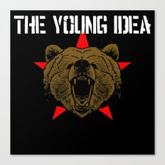The Young Idea - Grizzly Logo II Canvas Print