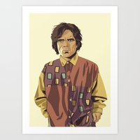 GAME OF THRONES 80/90s E… Art Print