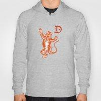 An Original Detroit Tiger's Logo (unofficial, of course) Hoody