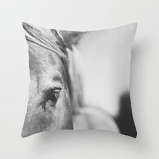 The Spirited Horse Throw Pillow