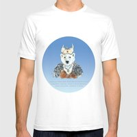 Родиться РОС�… Mens Fitted Tee White SMALL