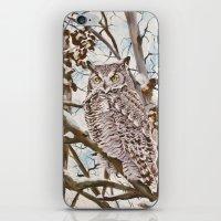 Sam's Great Horned Owl iPhone & iPod Skin