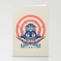 Space Ritual Stationery Cards