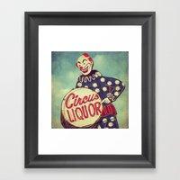 Circus Liquor, N. Hollyw… Framed Art Print