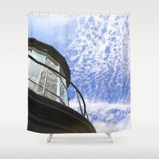 Lighthouse's Tale  Shower Curtain