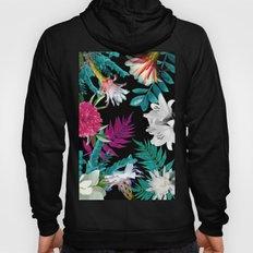 flowers pattern Hoody