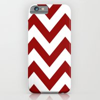 iPhone & iPod Case featuring SOONER CHEVRON by natalie sales