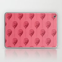 Balloons Watercolor Pattern Laptop & iPad Skin