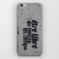 Be Free from Time to Time iPhone & iPod Skin