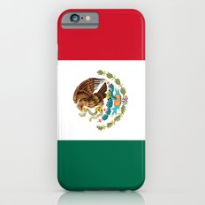 The Mexican national flag - Authentic high quality file iPhone 6 Slim Case