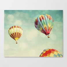 Perfect Dream - Hot Air … Canvas Print