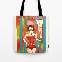 Strong woman Tote Bag