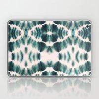 BOHEMIAN EMERALD SHIBORI Laptop & iPad Skin