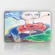 painted lady Laptop & iPad Skin