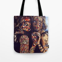 Psychoactive Bear 2 Tote Bag