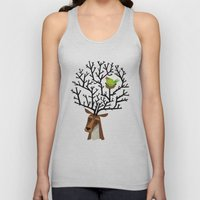 The Tree Stag and The Green Finch Unisex Tank Top