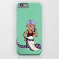 iPhone & iPod Case featuring Lamia Lass by YetiParade
