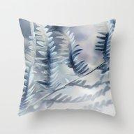 Throw Pillow featuring Blue Feren by ARTsKRATCHES