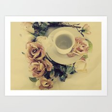 Tea Please... Art Print