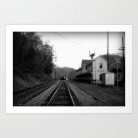 Thurmond Station Art Print