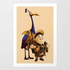 UP: Russell & Kevin Art Print