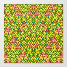 colored structure Canvas Print