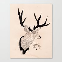Deerhunter Canvas Print