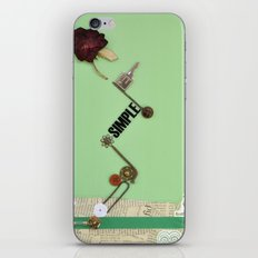 the rose  spring iPhone & iPod Skin