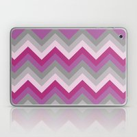 Radiant Orchid Chevron Laptop & iPad Skin
