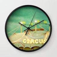 Circus II Wall Clock