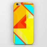 bipolar yellow iPhone & iPod Skin