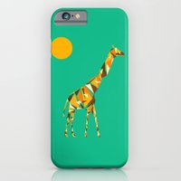 giraffe iPhone & iPod Cases featuring Giraffe  by fly fly away
