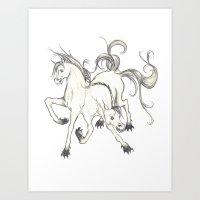 Horse Of DOOM Art Print