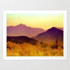 Painted Desert Art Print