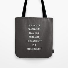 Liking Yourself (GREY) Tote Bag