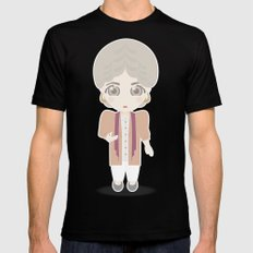 Girls in their Golden Years - Dorothy SMALL Mens Fitted Tee Black