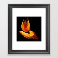 Pyrokinesis Framed Art Print