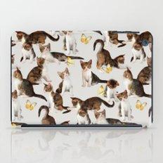 Kittens And Butterflies … iPad Case