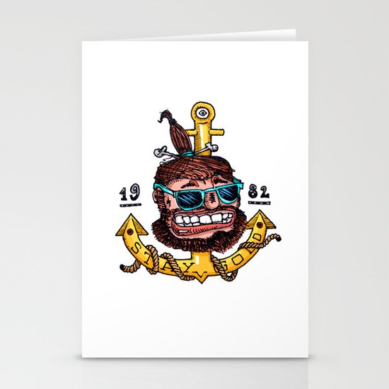 Stay Gold Stationery Card